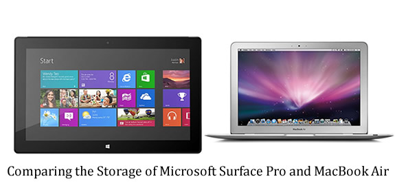 Microsoft Surface Pro - MacBook Air
