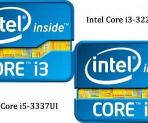 Intel Will Release Core i3-3227U and Core i5-3337UI for Notebooks