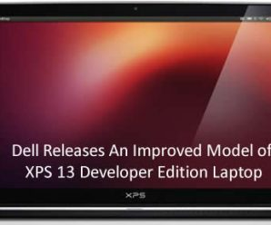 Dell Releases An Improved Model of XPS 13 Developer Edition Laptop