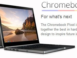 Google Unveils the Chromebook Pixel