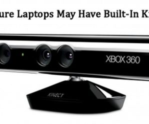 Future Laptops May Have Built-In Kinect