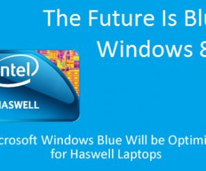 Microsoft Windows Blue Will be Optimized for Haswell Laptops