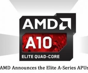 AMD Announces the Elite A-Series APUs