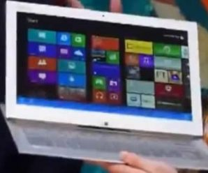 A New Sony Convertible Laptop Appears on Video