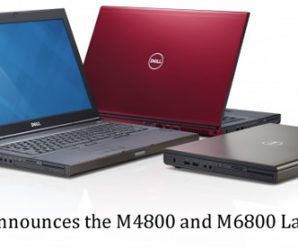 Dell Announces the M4800 and M6800 Laptops
