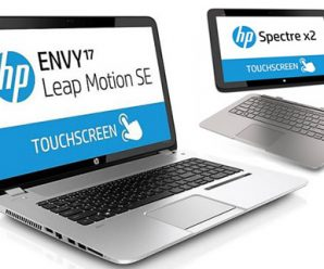 HP Releases Spectre 13 Ultrabook and Envy 17 Leap Motion Notebook
