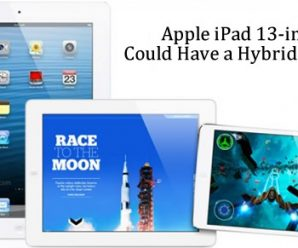 Apple iPad 13-inch Could Have a Hybrid Design