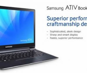 Samsung ATIV Book 9 Plus Preview