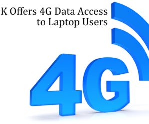 O2 UK Offers 4G Data Access to Laptop Users