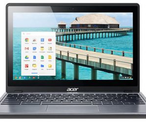 Acer Introduces the First Touchscreen Chromebook, the C720P