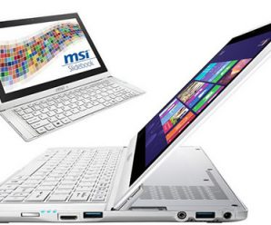 MSI S20 Slider 20 Offers Haswell Processor and Excellent Slide-Out Keyboard