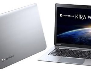 Toshiba Dynabook Kira V634 Offers 22 Hours of Battery Life