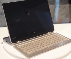Toshiba Unveils 5-in-1 Laptop Concept